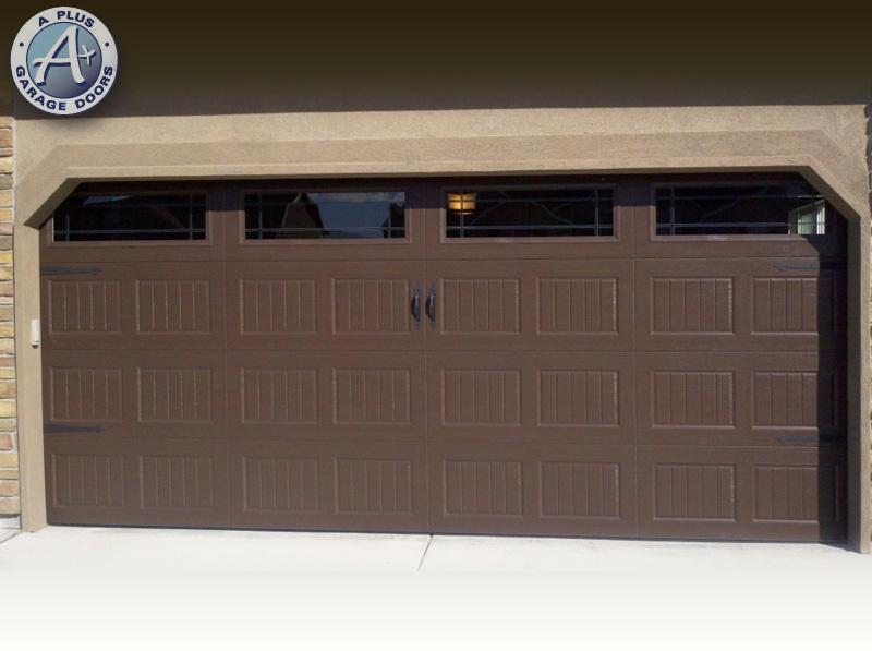 New garage doors a plus garage doors for Garage door repair ogden utah