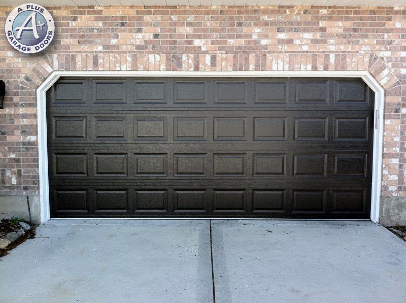 New garage doors a plus garage doors for Garage door repair salt lake city