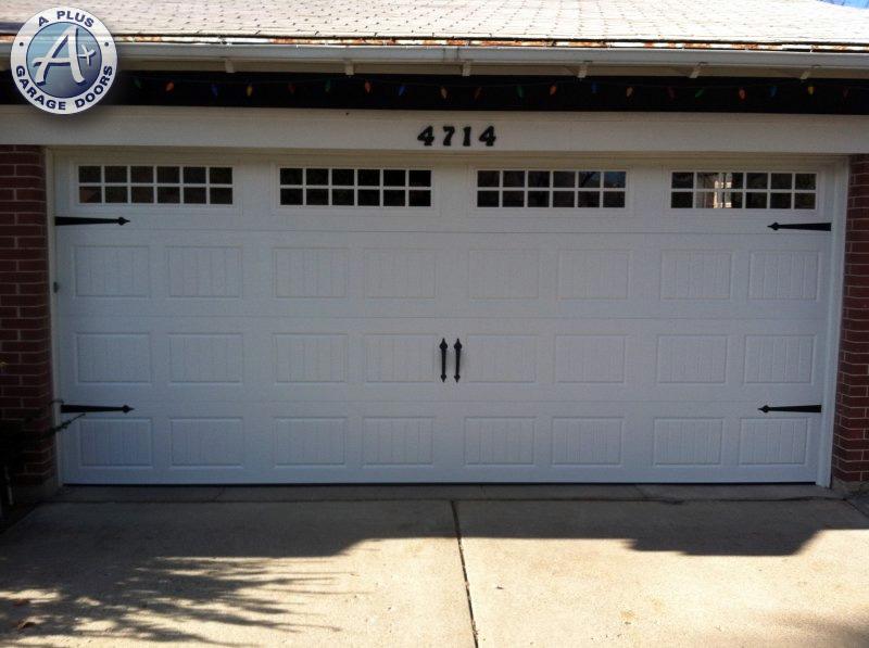 New Garage Doors A Plus Garage Doors