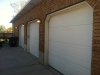 Steel Garage Door Installation - Before