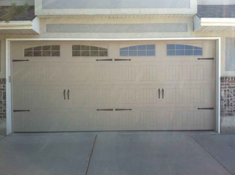 Steel Garage Door With Windows