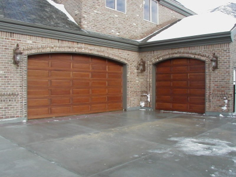 wood garage door panel replacement 1