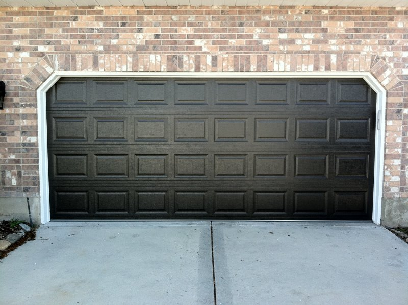 Dark Garage Door in Salt Lake City