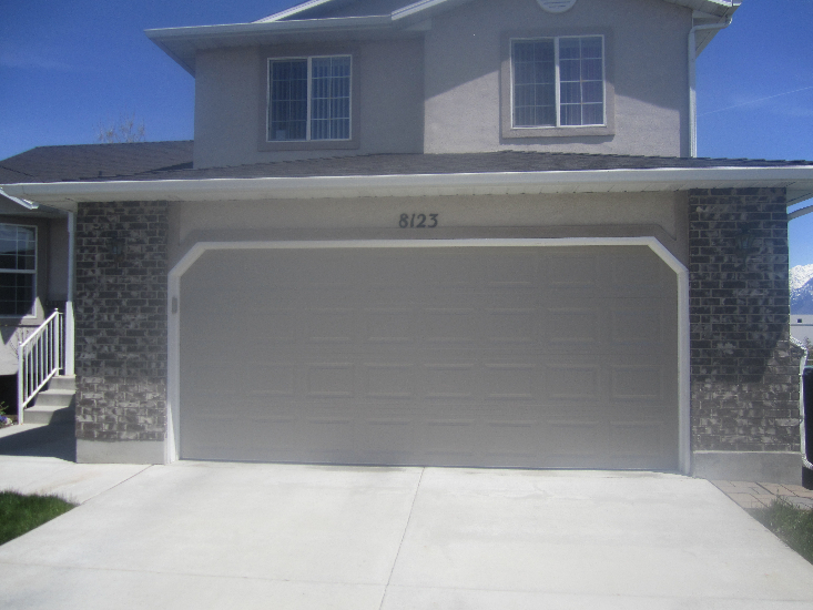 Ut steel door premium sales service a plus garage doors for Garage door repair roy utah