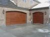 Wooden Garage Door Park City