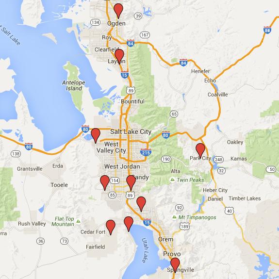 Salt Lake Park City Provo Ogden A Plus Garage Doors