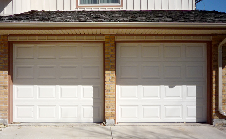 A Garage Doors Raised Panel Garage Door