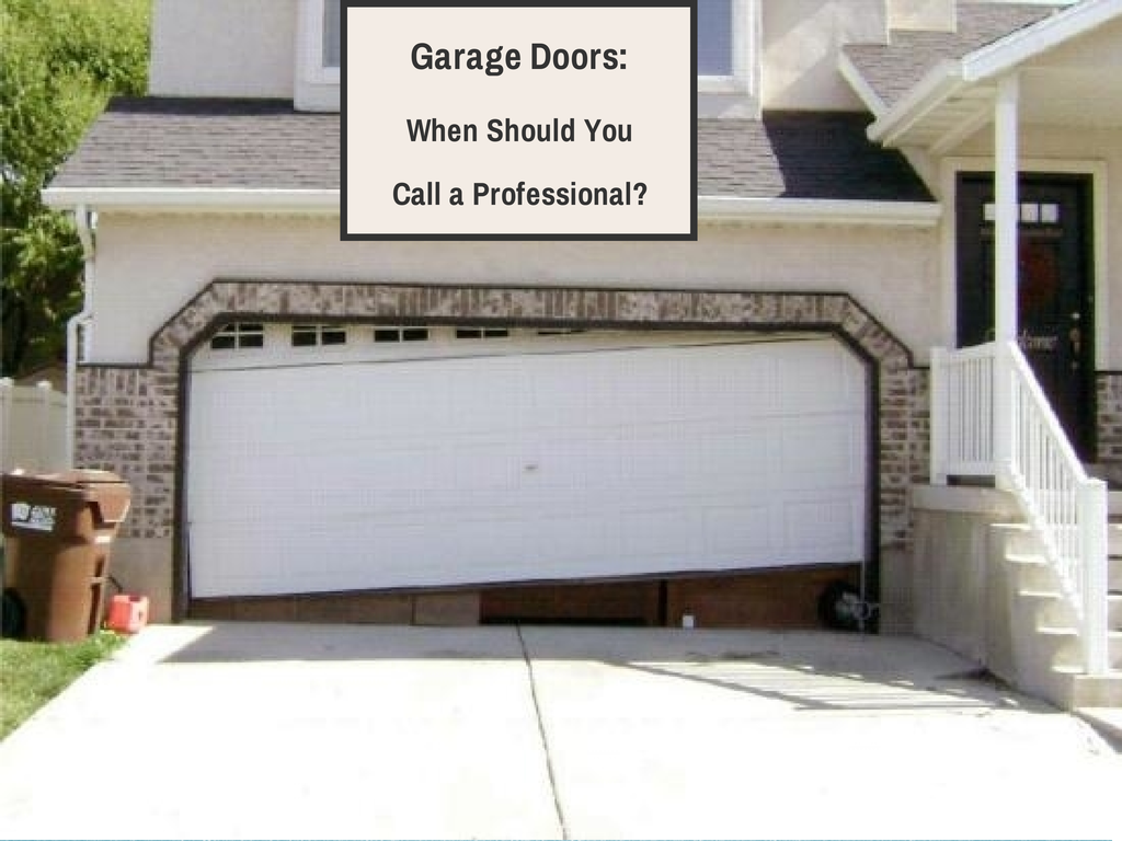 Garage door problems call a pro a garage doors for Garage door repair roy utah