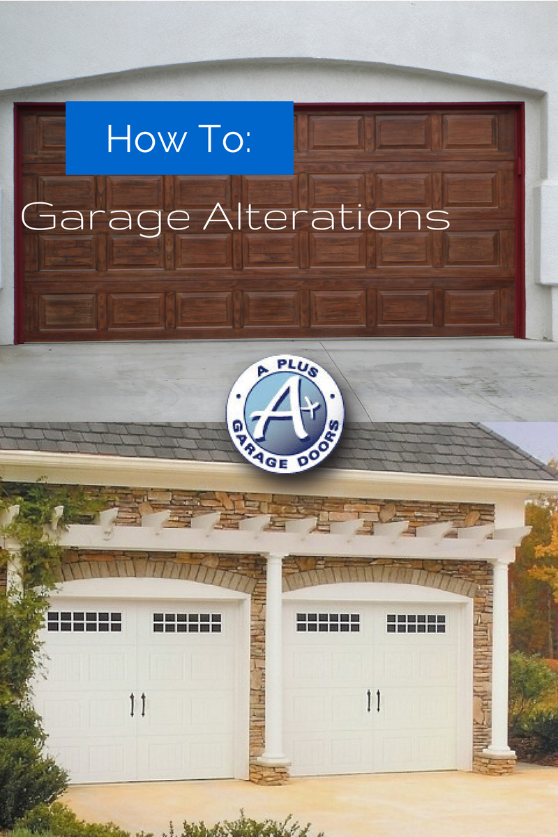 Garage alterations and resale value a garage doors for Garage door repair roy utah