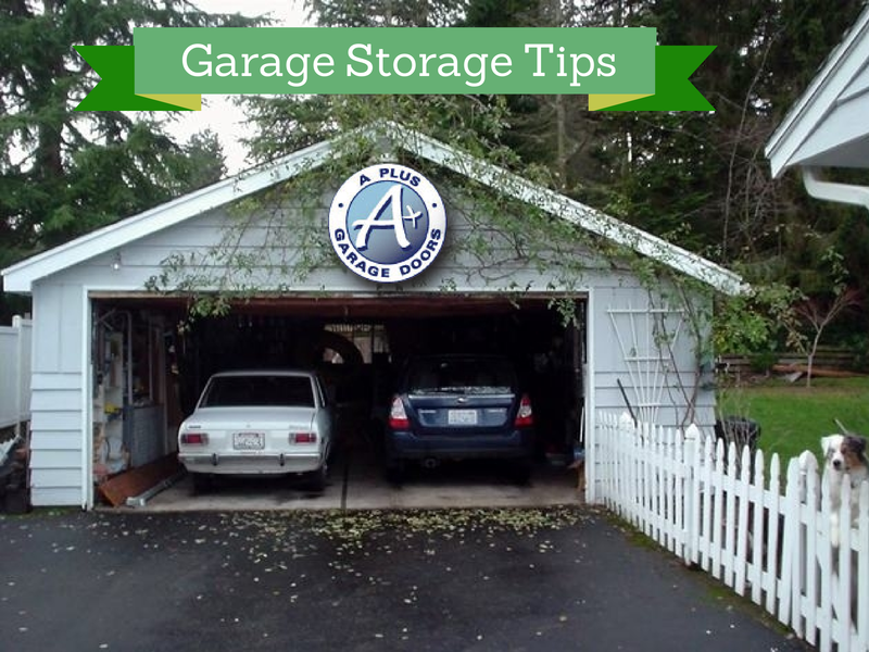 Garage storage tips a garage doors for Garage door repair roy utah