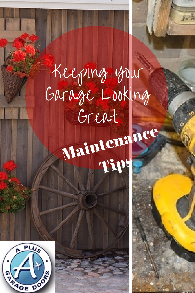 Garage maintenance tips a garage doors for Garage door repair roy utah
