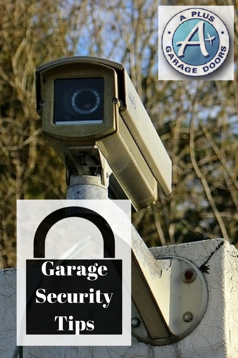 Garage security tips a garage doors for Garage door repair roy utah