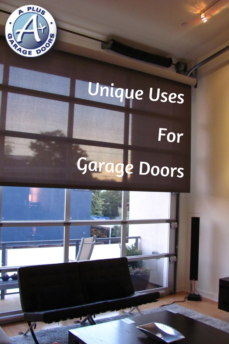 garage door special uses