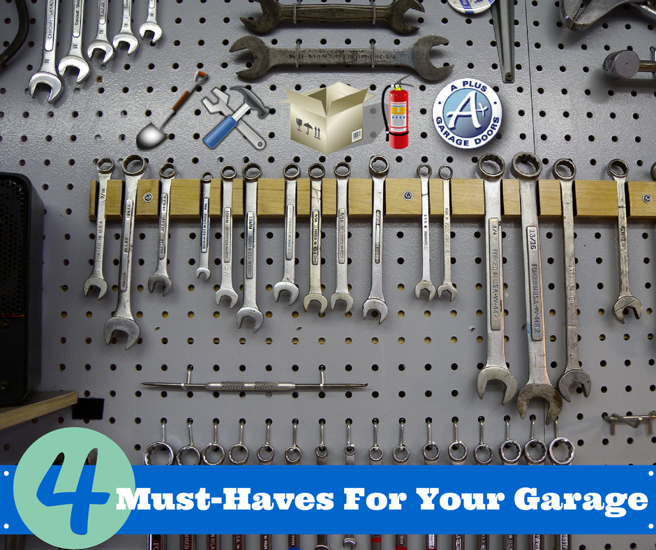 items to keep in your garage