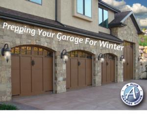 prepare garage for winter