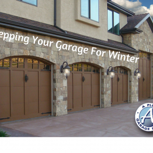 prepare garage for winter