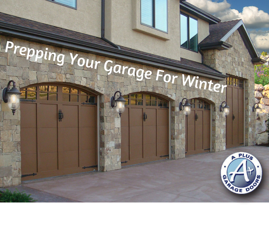 Winterize your garage a garage doors for Garage door repair roy utah