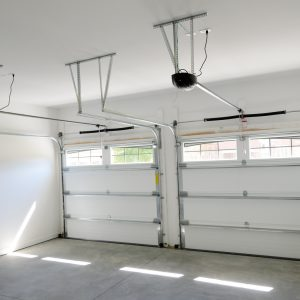 interior of garage door opening system