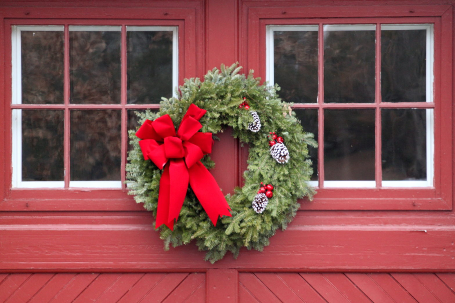 Dressing Up Your Garage Door For The Holidays A Plus