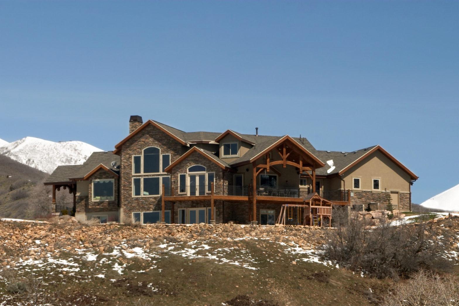 utah mountain home
