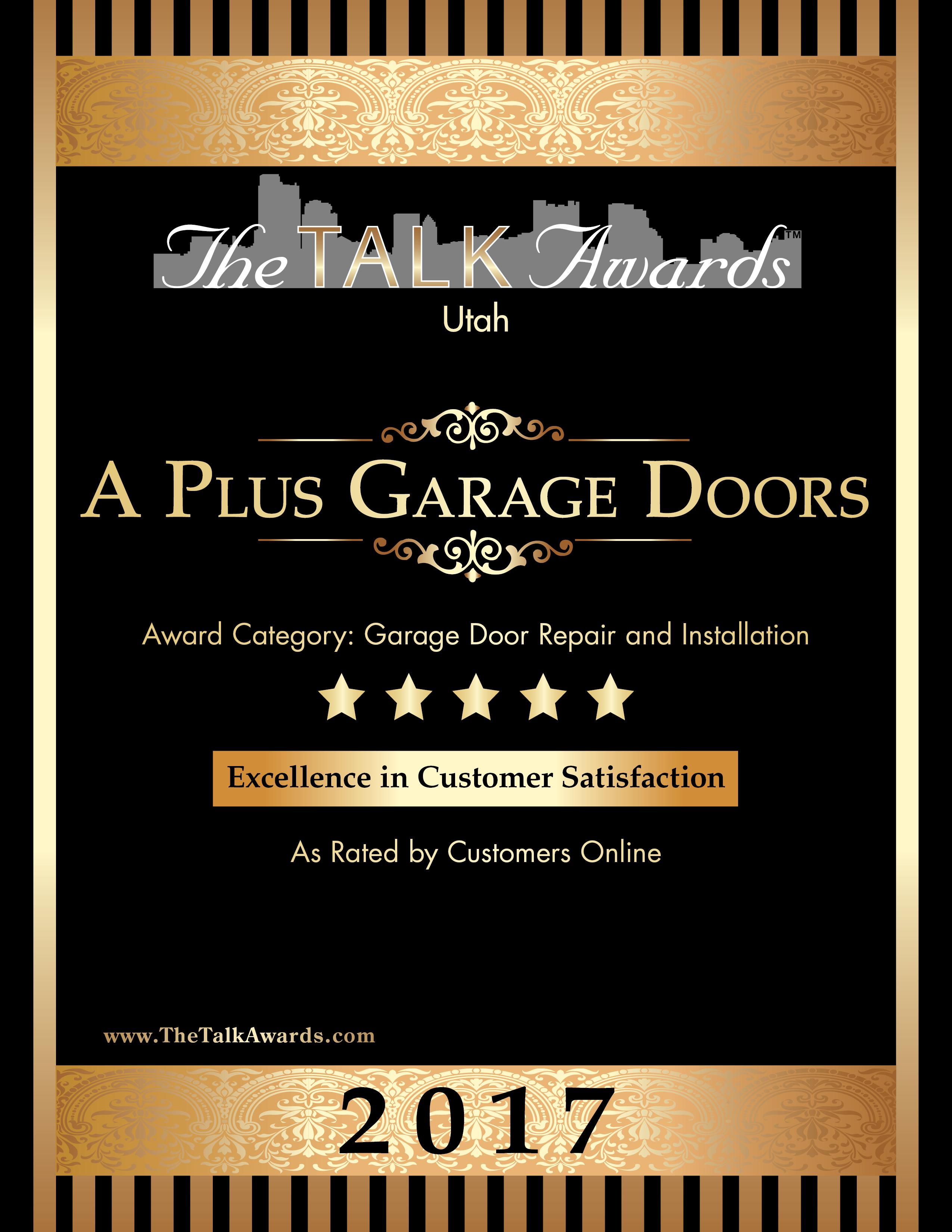 Utah Garage Door Repair Amp Installation A Plus Garage Doors