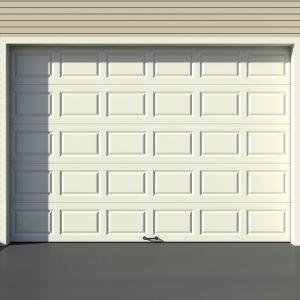 Garage door sectional panels