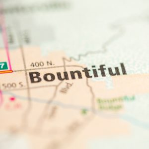 Bountiful Utah Map
