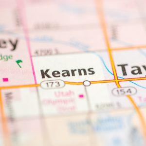 Kearns, Utah map