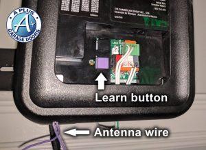 program liftmaster remote learn button