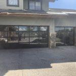 glass garage door utah