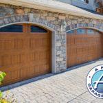 garage door arch windows utah