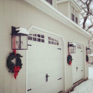 Garage Door Wreaths