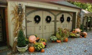 Fall Garage Door Design